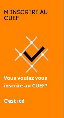 inscription cuef
