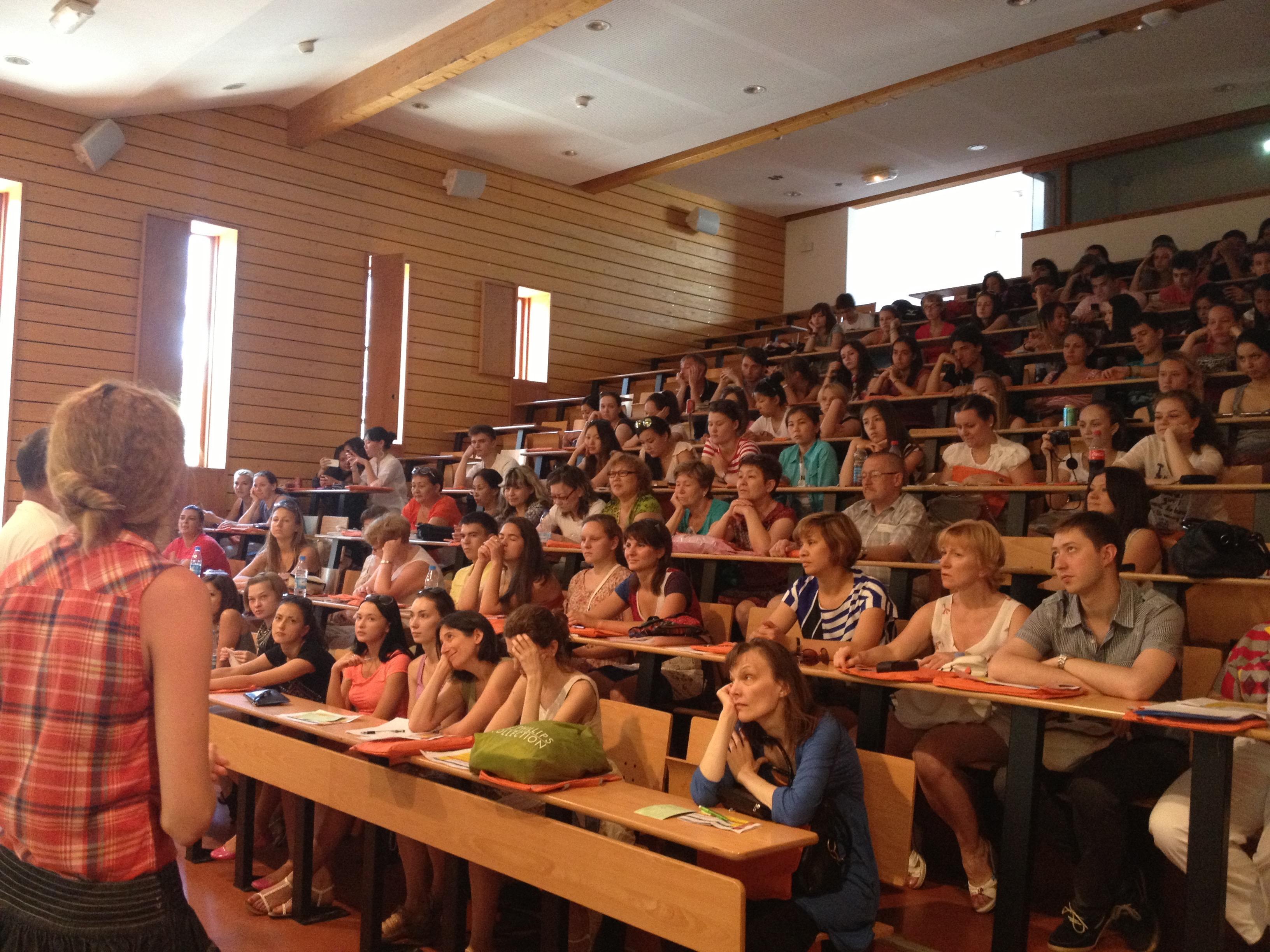 Cours amphithéâtre, UPVD, Université